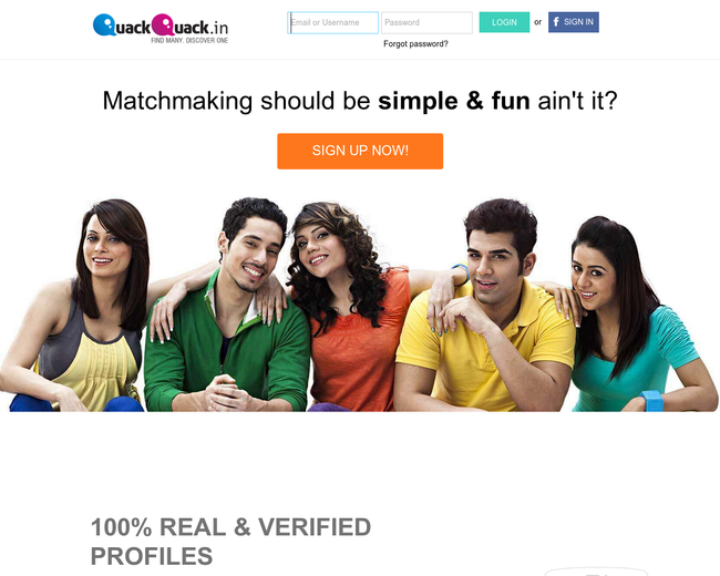 Online dating websites of india