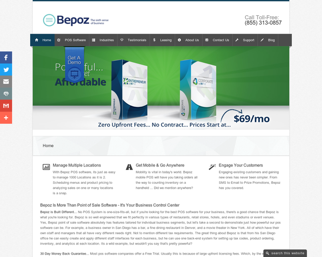 Bepoz Point of Sale Solutions