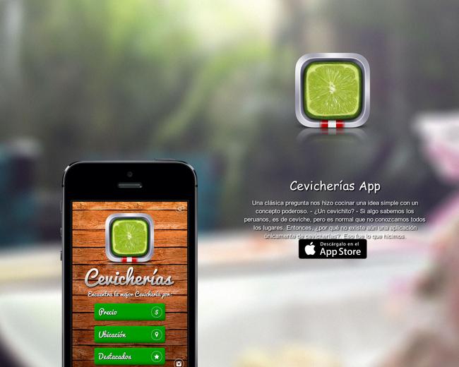 Cevicherias App