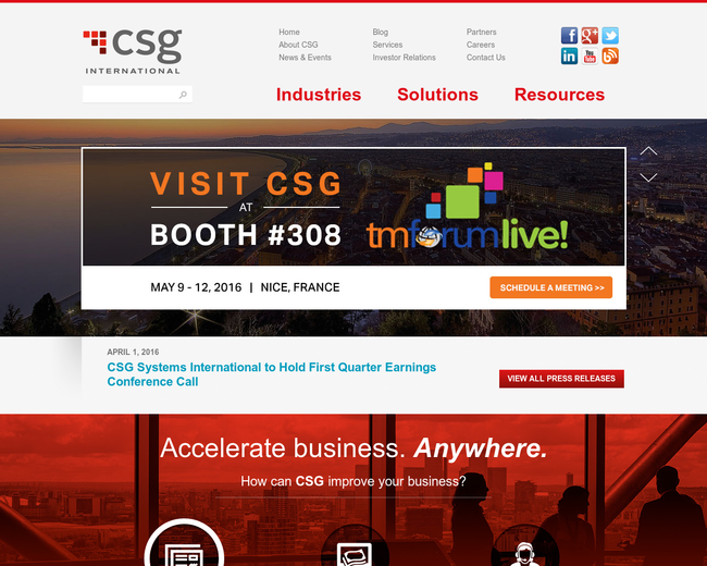 CSG Systems