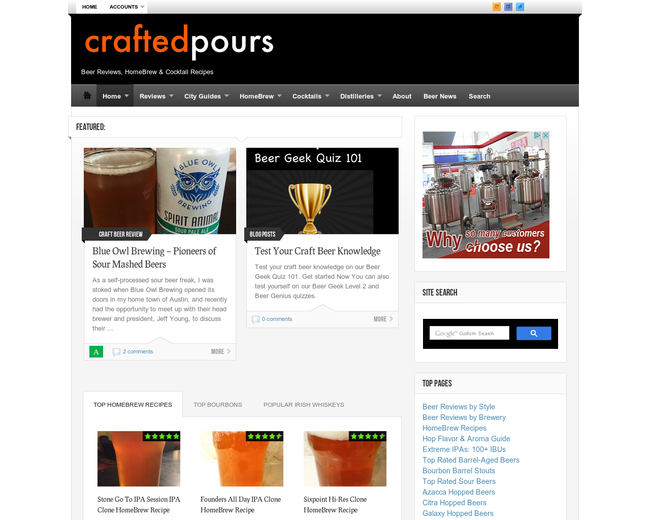 Crafted Pours