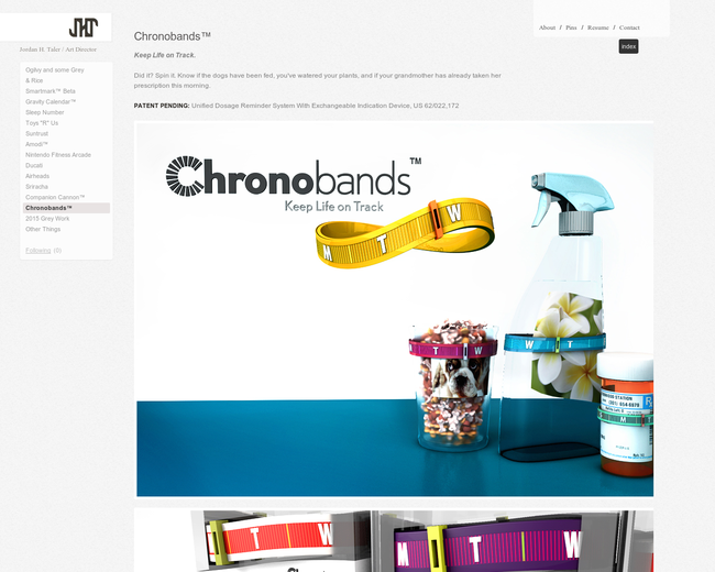 Chronobands