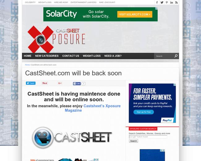 CastSheet