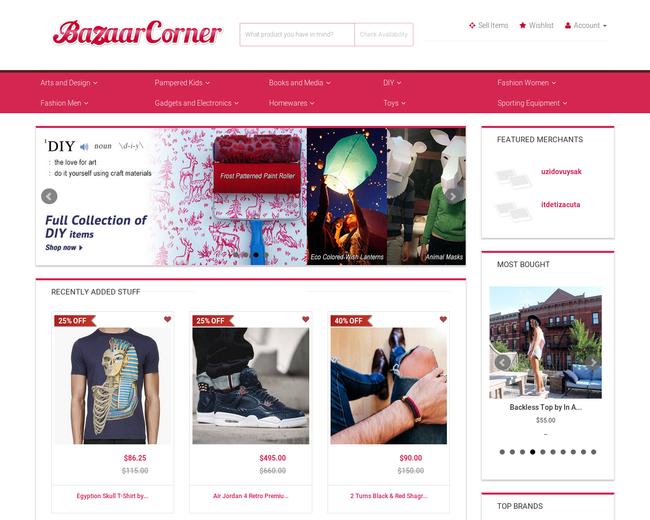 Bazaar Corner