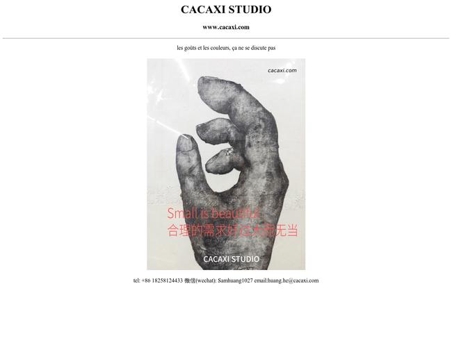 CACAXI STUDIO