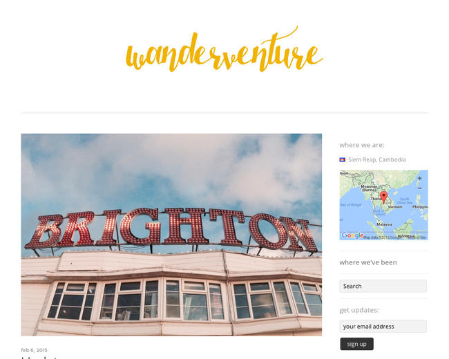 Wanderventure - a new travel experience