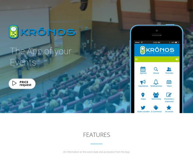 App Krónos