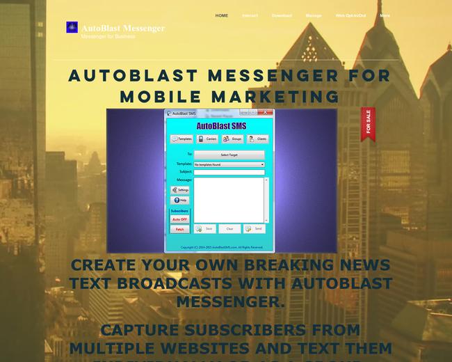 AutoBlast SMS