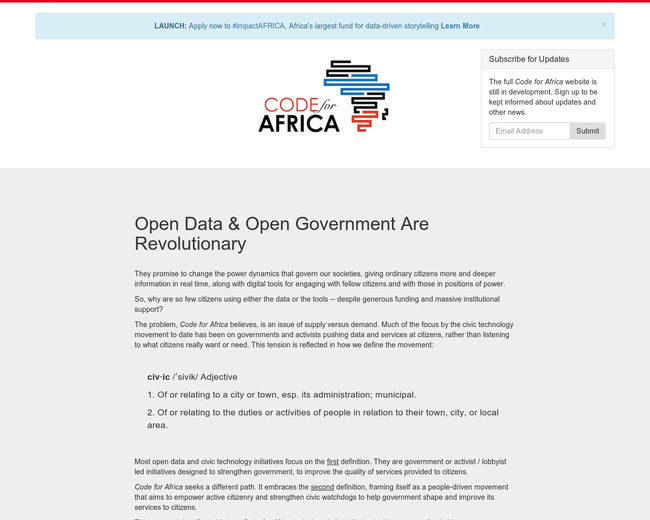 Code for Africa