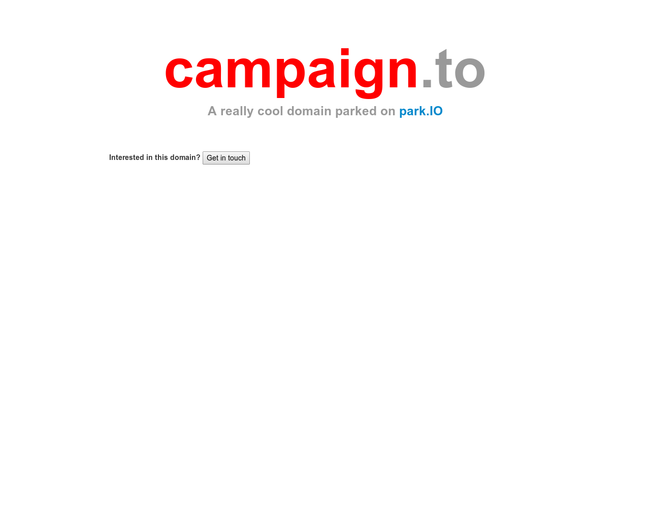 CAMPAIGN.TO