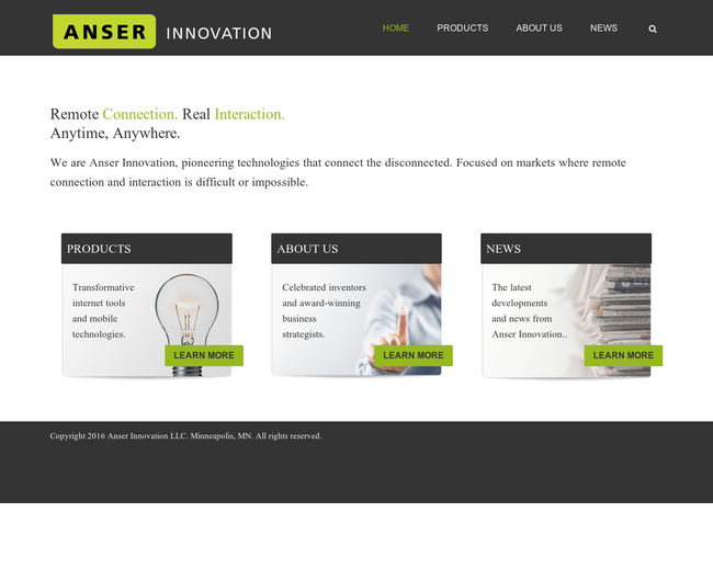 Anser Innovation