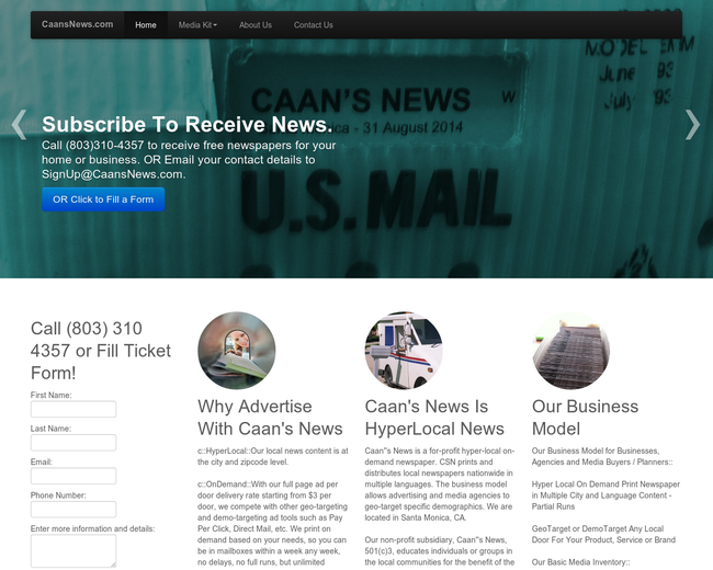Caan's News