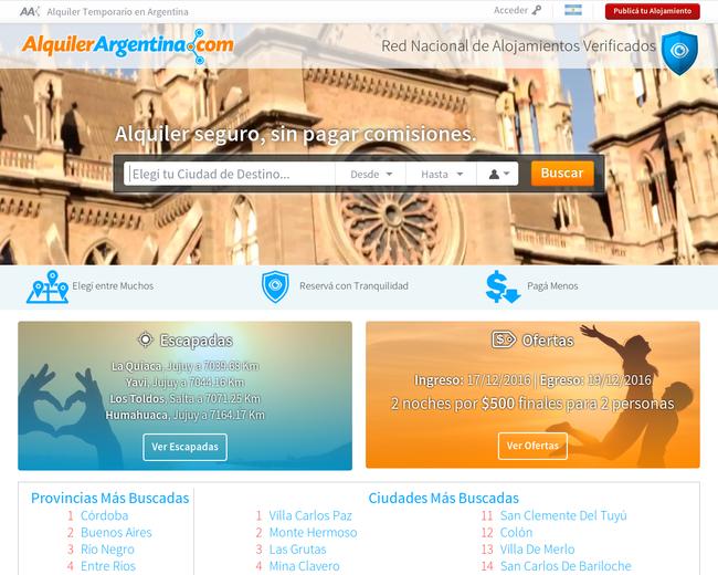Alquiler Argentina