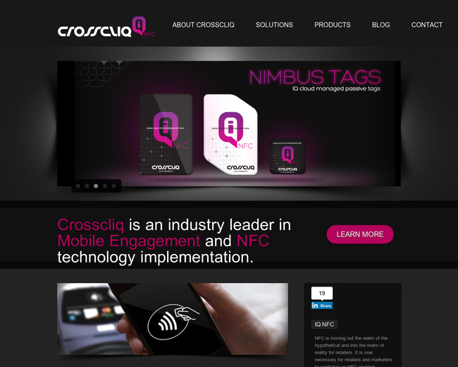 Crosscliq | NFC Mobile Engagement