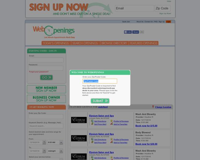 WebOpenings