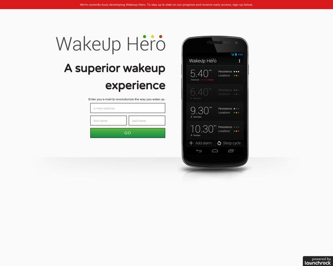 Wakeup Hero