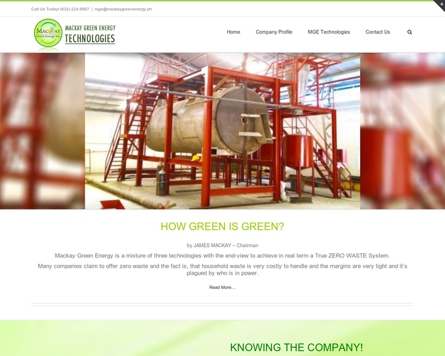 MACKAY GREEN ENERGY