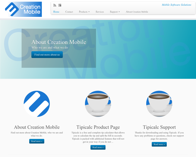 creation mobile