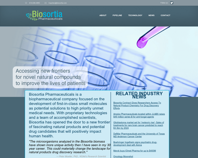 Biosortia Pharmaceuticals