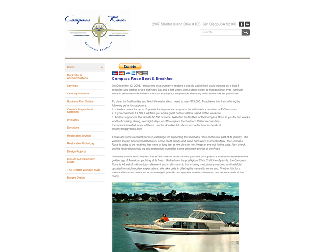 Compass Rose Boat & Breakfast