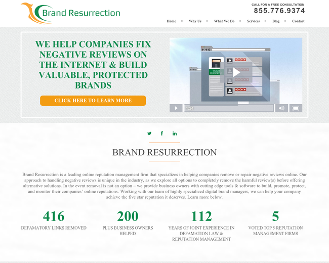 Brand Resurrection