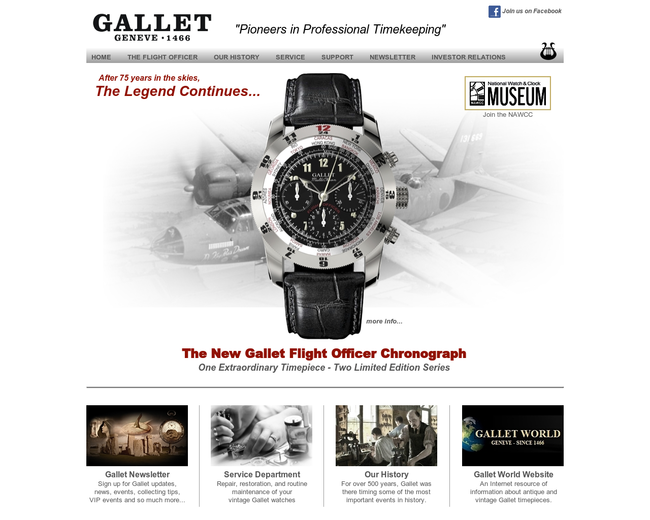GALLET WATCH COMPANY