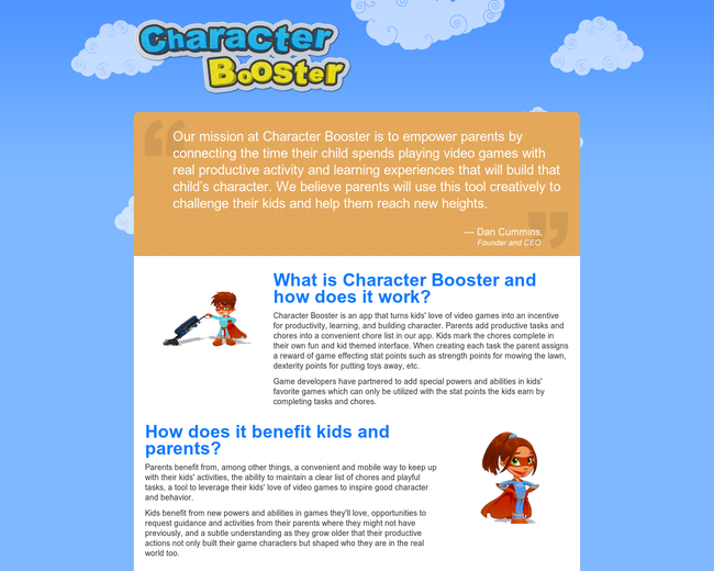 Character Booster