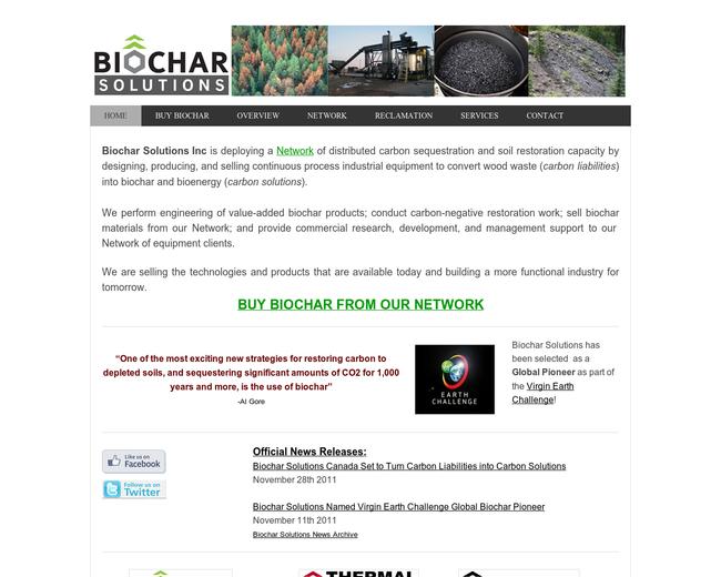 Biochar Solutions