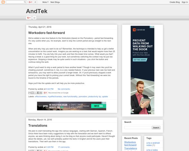 AndTek team