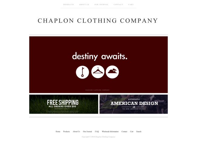 Chaplon Clothing Company