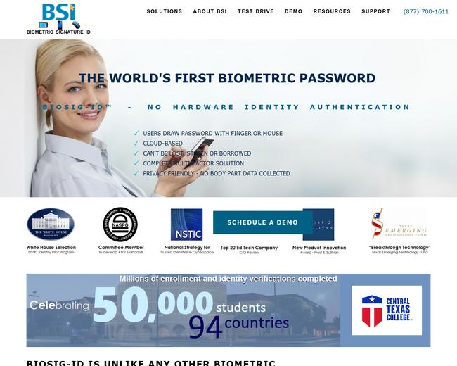 Biometric Signature ID
