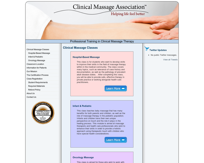Clinical Massage Association