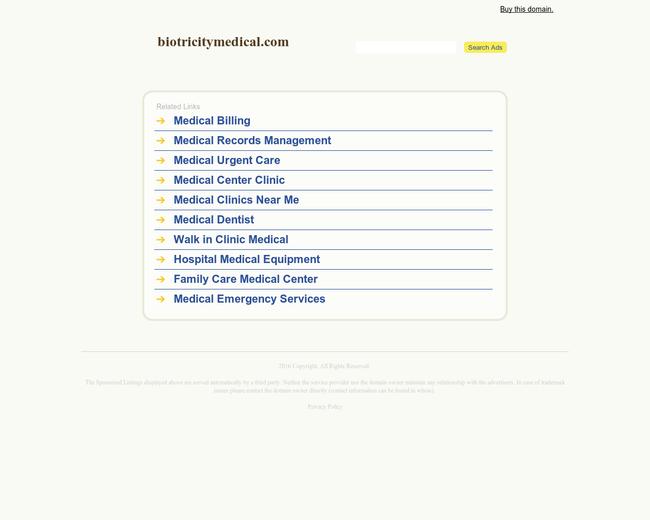 Biotricity Biomedical