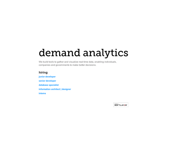 Demand Analytics