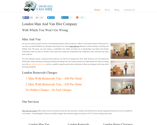 Bromley Man And Van Hire Company