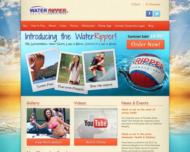 WaterRipper by RipperBall Sports