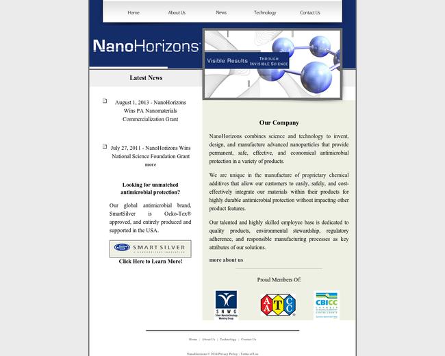 Nanohorizons