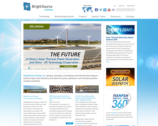Brightsource Energy
