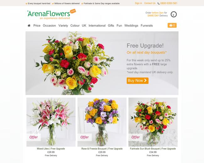Arenaflowers.com