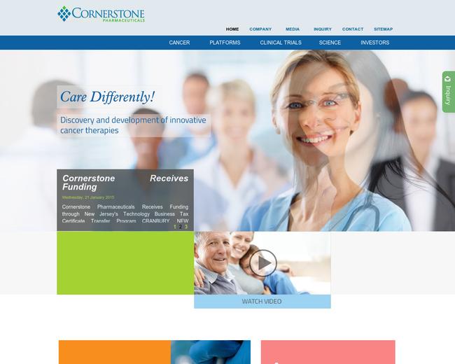 Cornerstone Pharmaceuticals
