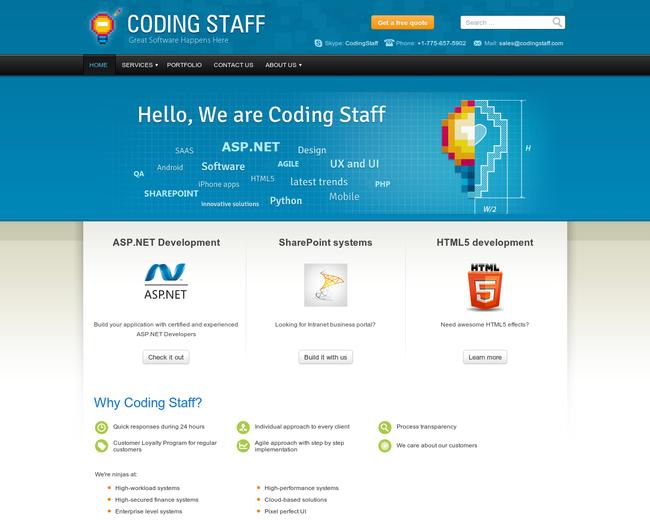 Coding Staff