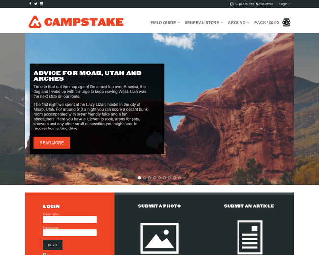 Campstake