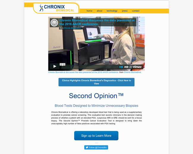 Chronix Biomedical