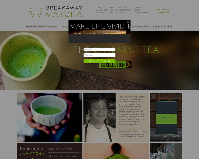 Breakaway Matcha
