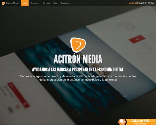 Acitrón Media
