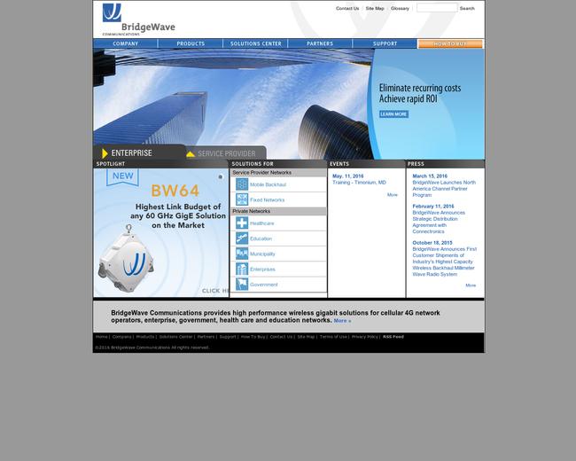 BridgeWave Communications