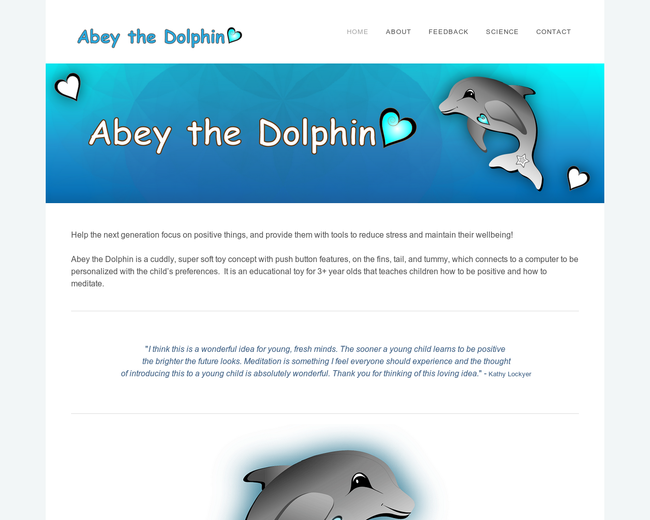 Abey the Dolphin