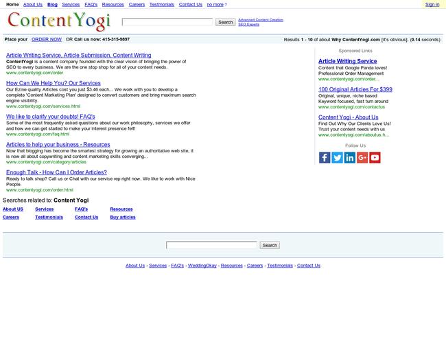 Content Yogi Solutions