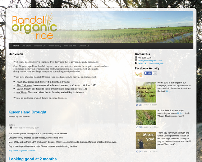 Country to Coast / Randall Organic Rice