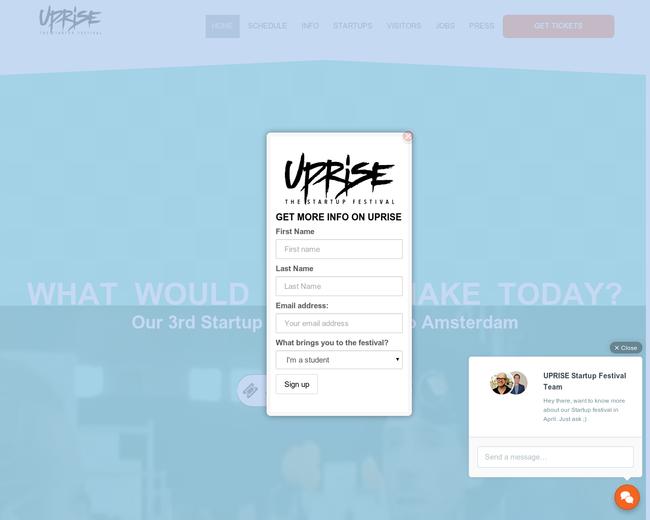 UPRISE Startup Festival